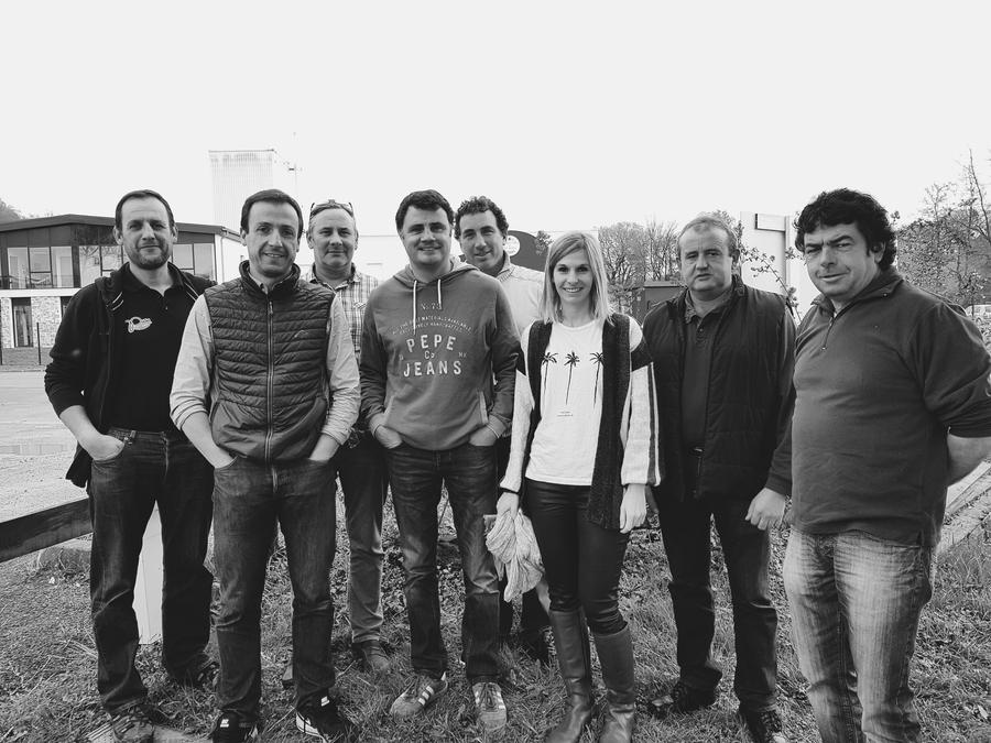 L'équipe Bastidarra